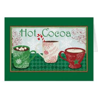 Winter Cocoa Card
