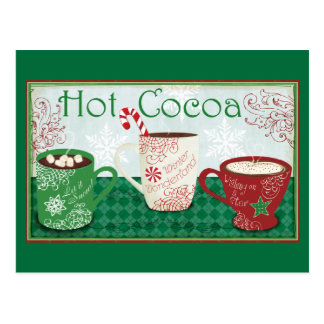 Winter Cocoa Postcard
