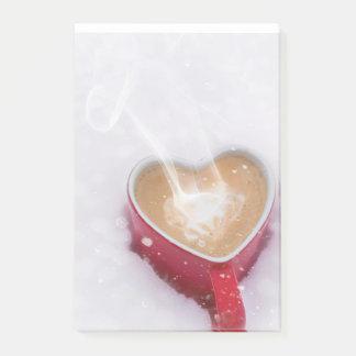 Winter Coffee Post-it 4x6 Post-it Notes
