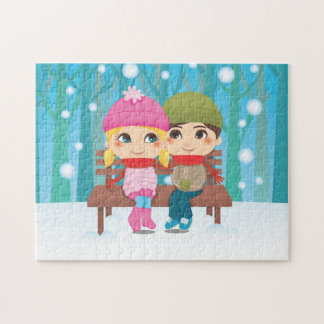 Winter Couple Jigsaw Puzzles