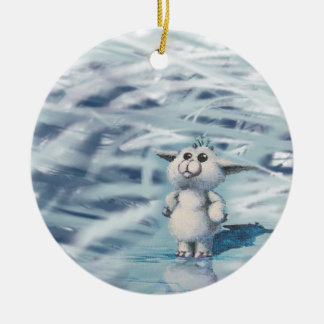 winter creature christmas ornament