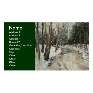 Winter Creek Business Card
