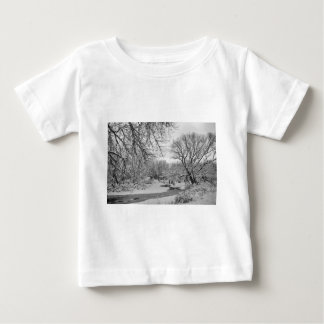 Winter Creek in Black and White Tees