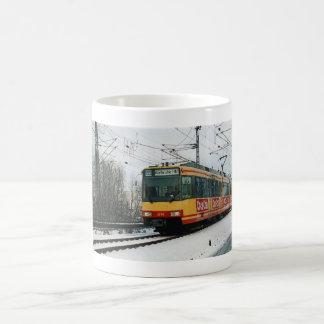 "Winter cup of ""metropolitan railway "" mugs"