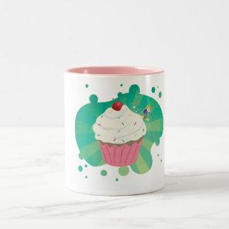 Winter cupcake ski Mug