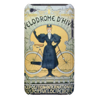 'Winter Cycle Racing Track', International Exhibit Barely There iPod Case