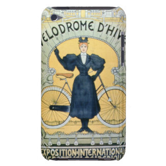 'Winter Cycle Racing Track', International Exhibit iPod Touch Cases