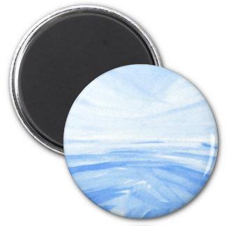 Winter Dawn 6 Cm Round Magnet
