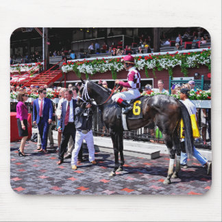 Winter Dawn wins her first start Mouse Pads