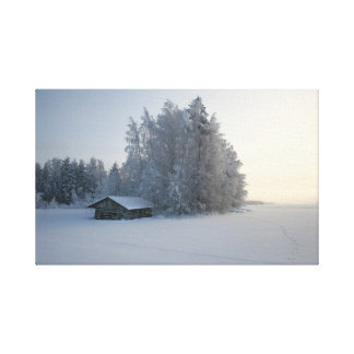 Winter Day. Canvas Print
