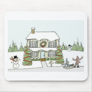 Winter Day Mouse Pad