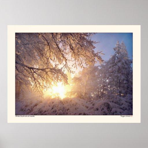 Winter Daybreak - Ananda Print