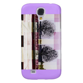 Winter December January Trees Galaxy S4 Case