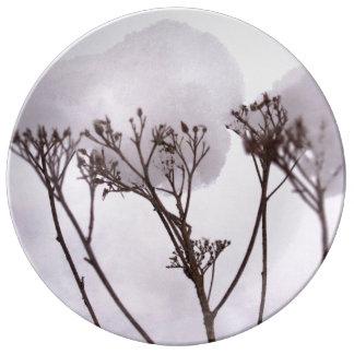 Winter Decorative Porcelain Plate