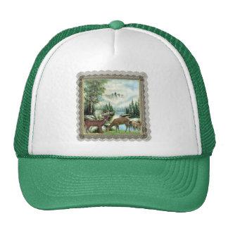 Winter Deer Trucker Hats