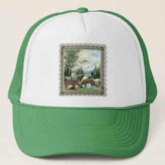 Winter Deer Trucker Hat