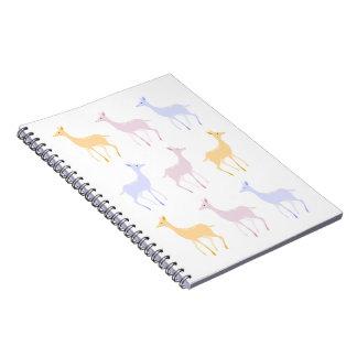Winter Deers notebook