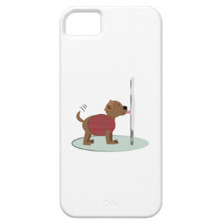 Winter Doggy Pole iPhone 5 Cases