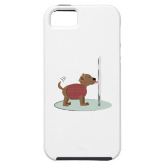 Winter Doggy Pole Case For iPhone 5/5S