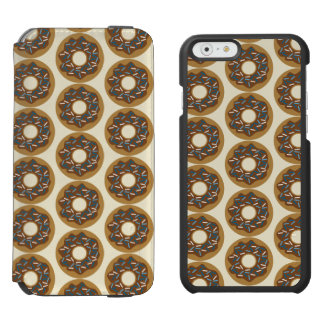 Winter Donuts with Blue Sprinkles Iced Chocolate Incipio Watson™ iPhone 6 Wallet Case