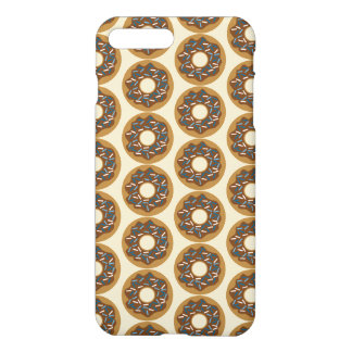 Winter Donuts with Blue Sprinkles Iced Chocolate iPhone 8 Plus/7 Plus Case