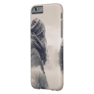 Winter double exposure barely there iPhone 6 case
