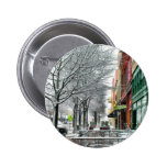Winter Downtown Buttons