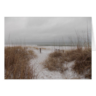 Winter Dunes III Card