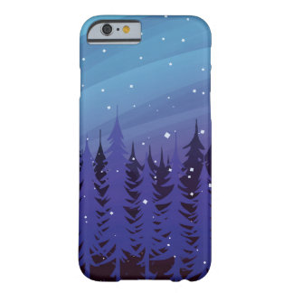 Winter Evergreen Barely There iPhone 6 Case