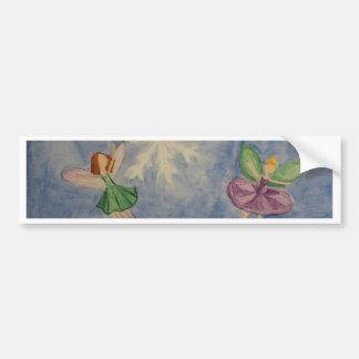 Winter Fairies Bumper Sticker