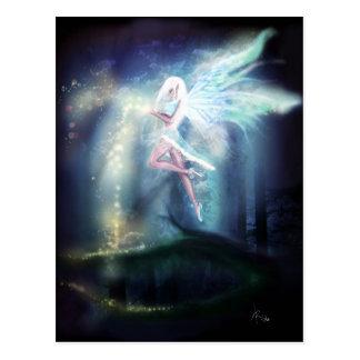 Winter Fairy Postcard, Customize It! Postcard
