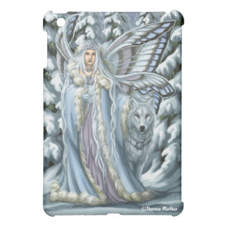 Winter Fairy & Wolf iPad Case