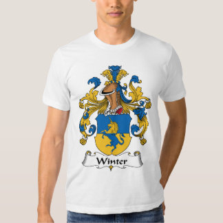 Winter Family Crest Shirts