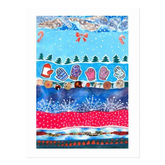 Winter Fantasy Postcard