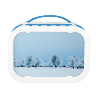 Winter Farm Lunch Box