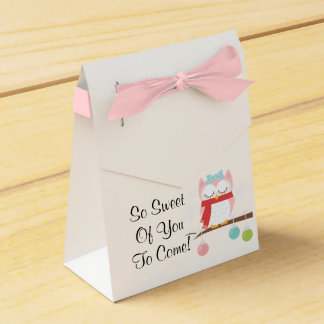 Winter Favors Favour Box