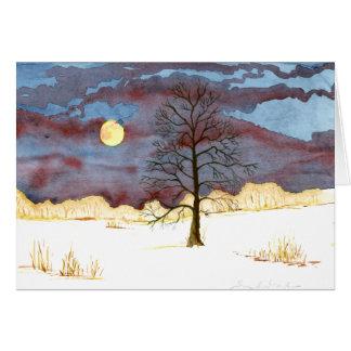 Winter Field Card