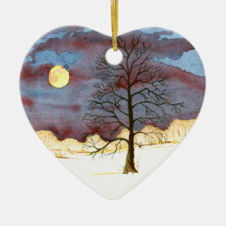 Winter Field Christmas Ornament