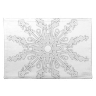 Winter Flake V Placemat
