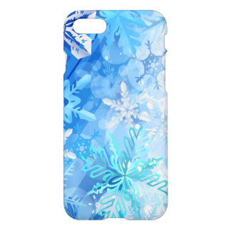 winter flakes iPhone 7 case