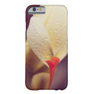 Winter flower and the raindrops barely there iPhone 6 case