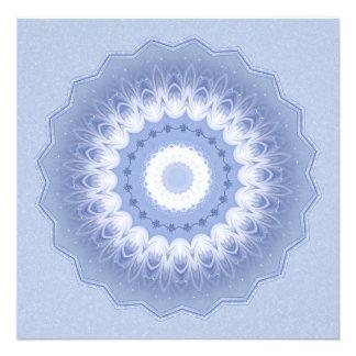 Winter Flower Kaleidoscope Invite