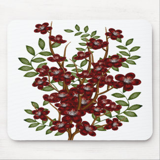 Winter Flowers Mousepads