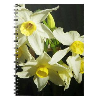 Winter Flowers Notebook