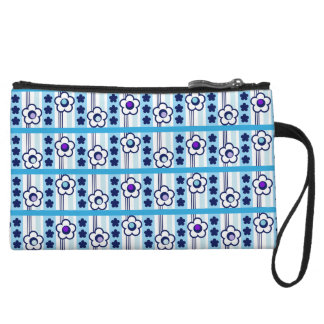 Winter Flowers Wristlet
