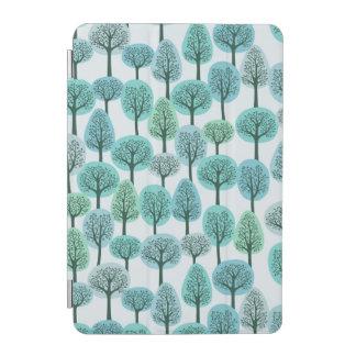 Winter Forest Pattern iPad Mini Cover