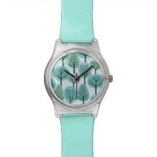 Winter Forest Pattern Watches