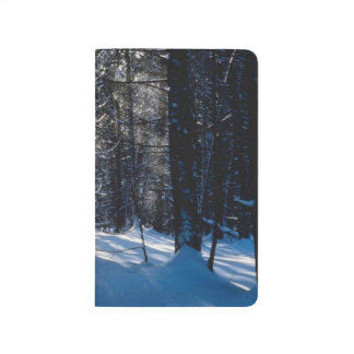 Winter Forest Sunlight Snow Trees Pretty Scenery Journal