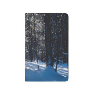 Winter Forest Sunlight Snow Trees Pretty Scenery Journal
