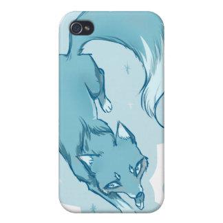 Winter fox iPhone 4/4S case